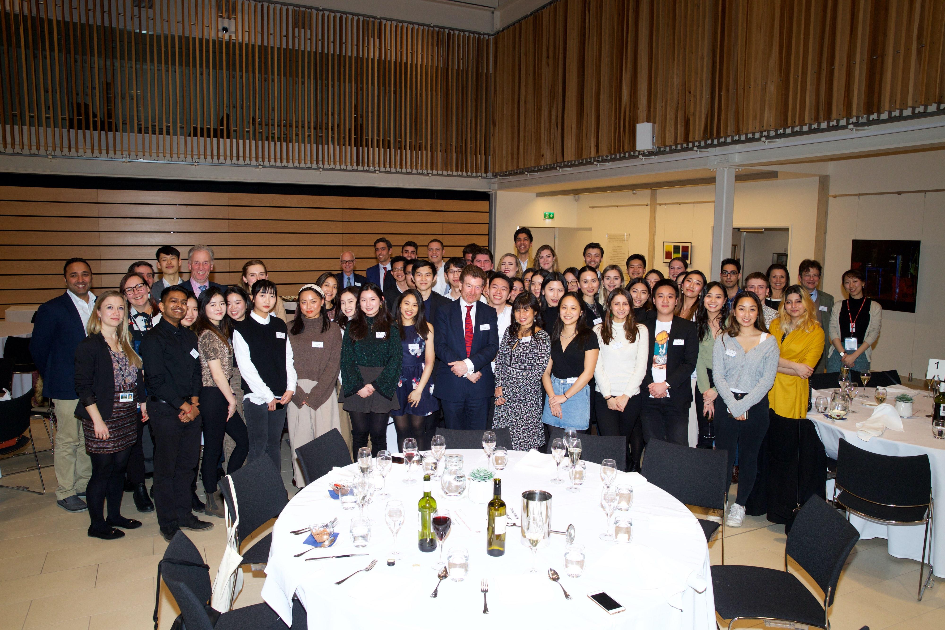 DCI alumni gather in London
