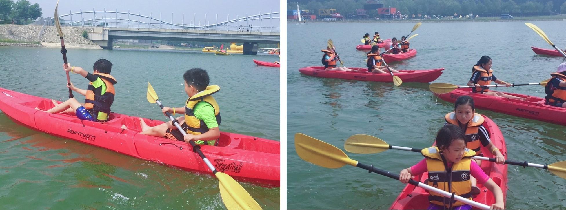 2019 DCB Year 4 Residential - Kayaking