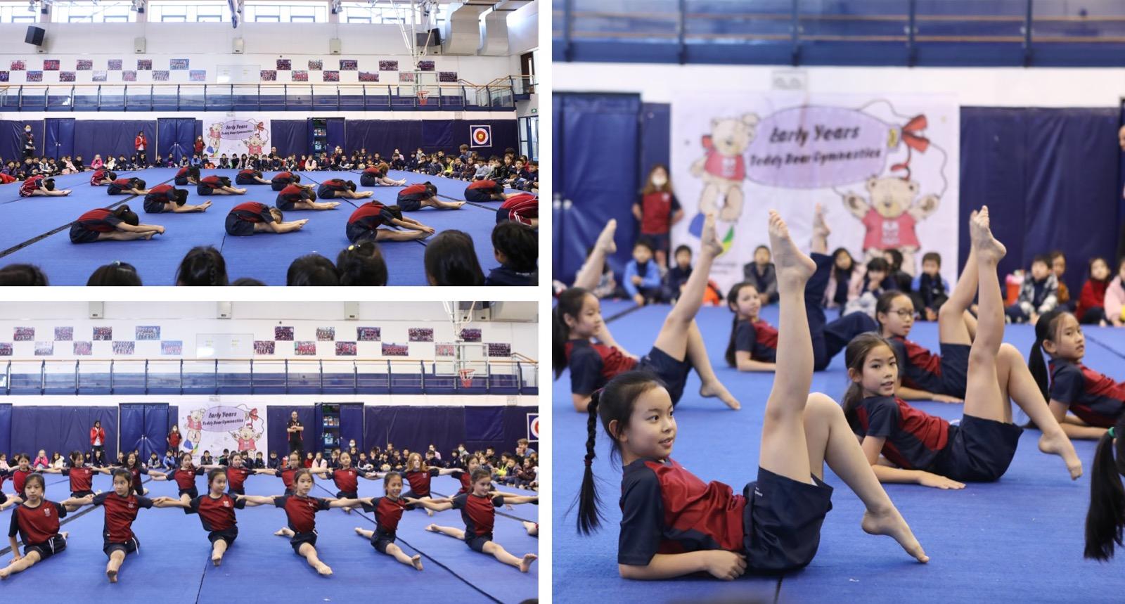 Junior School students - Teddy Bear Gym 2020