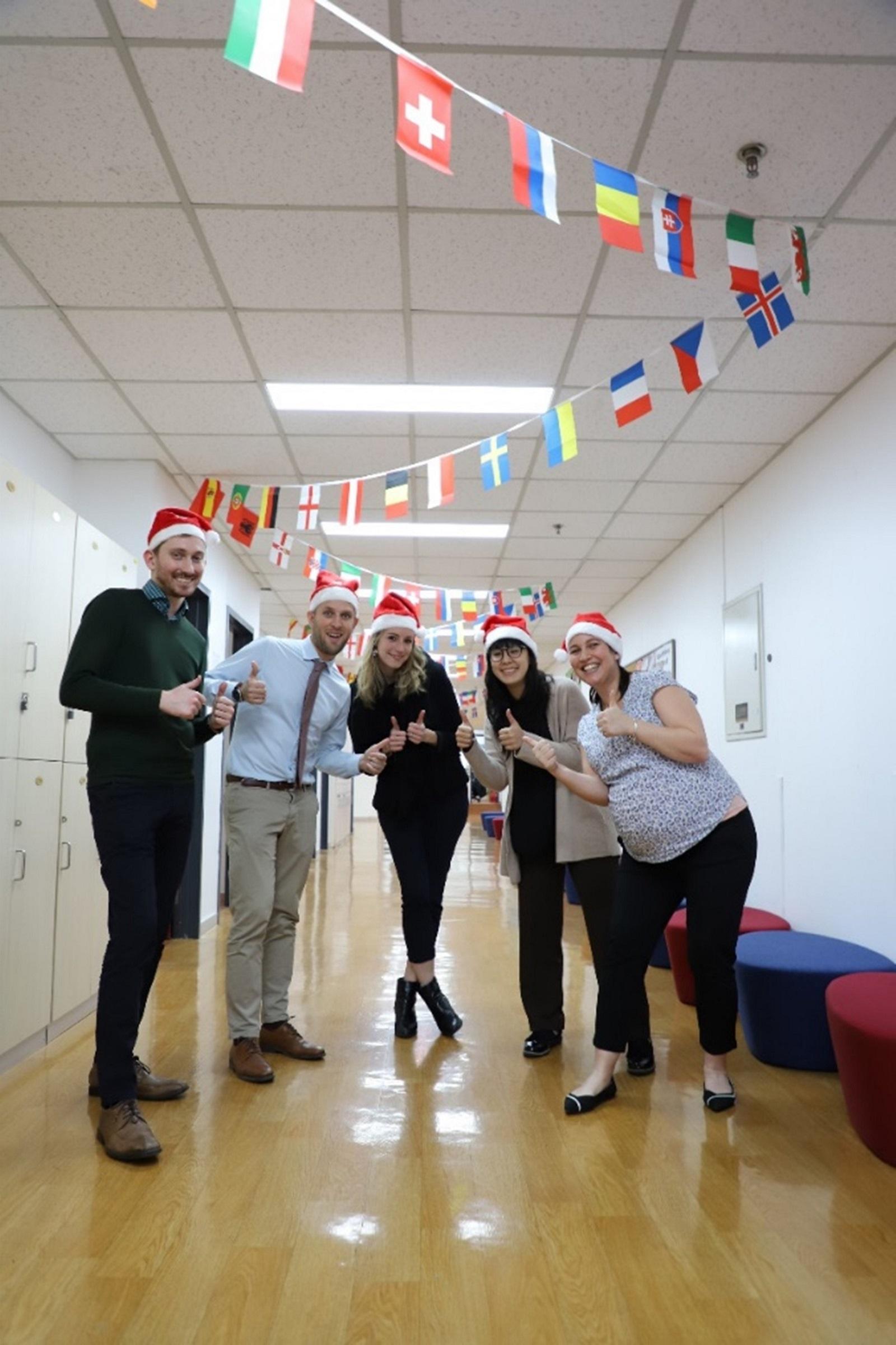 Senior School European Languages team