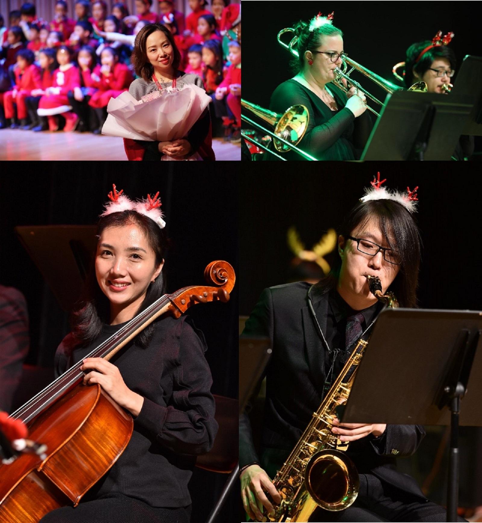 4 teachers of music team