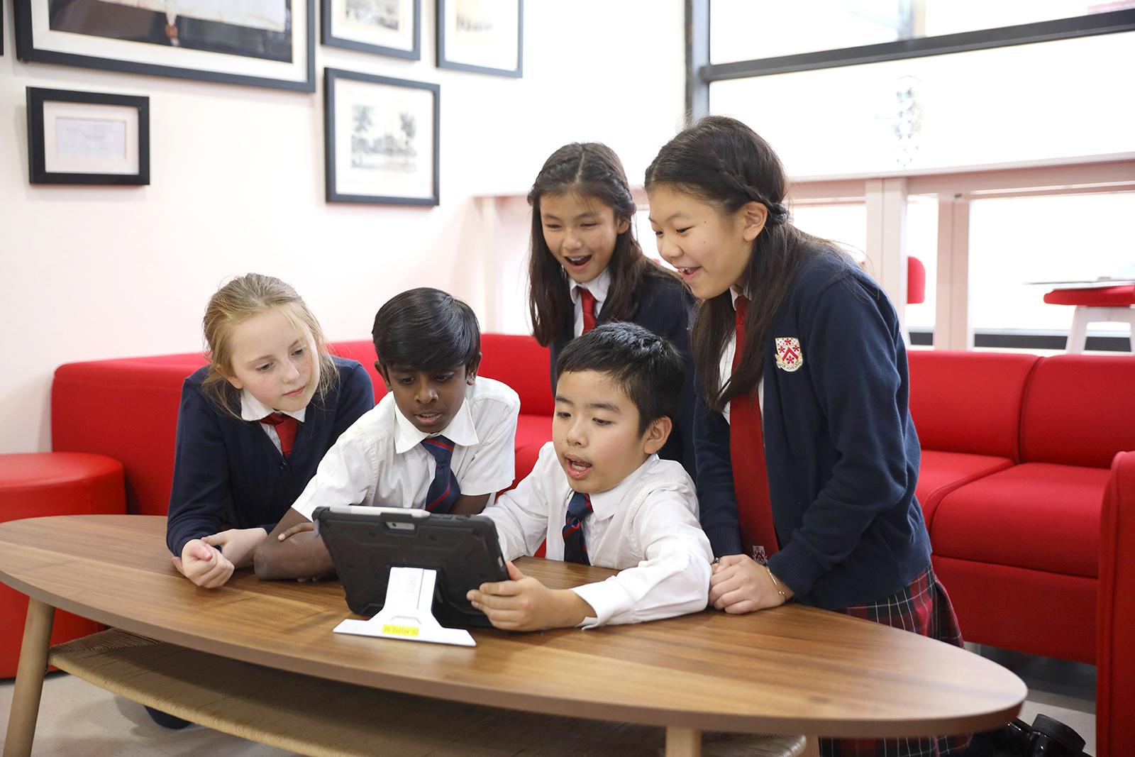 小学生的在线教育课程