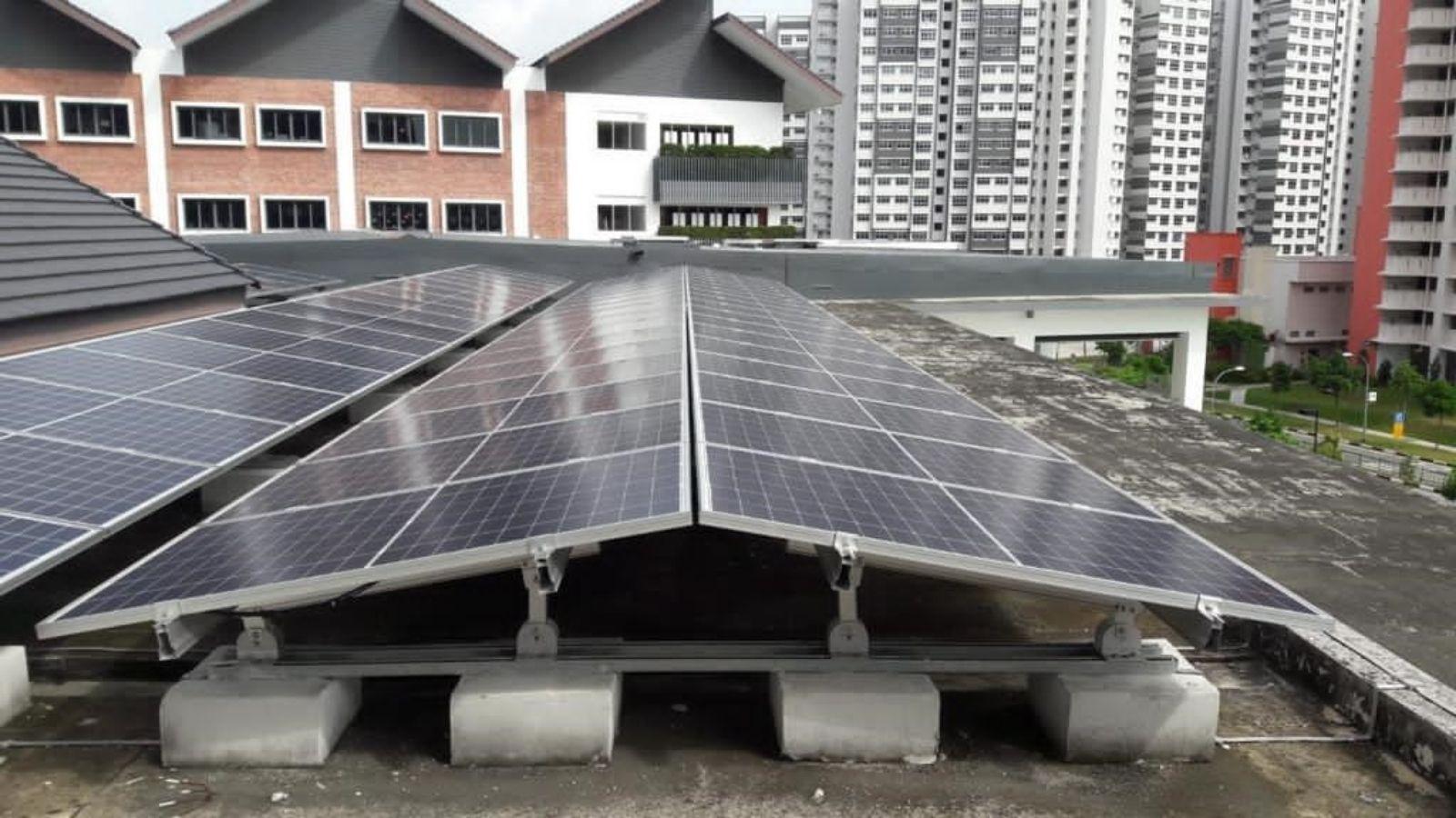 Dulwich College (Singapore)'s solar panels