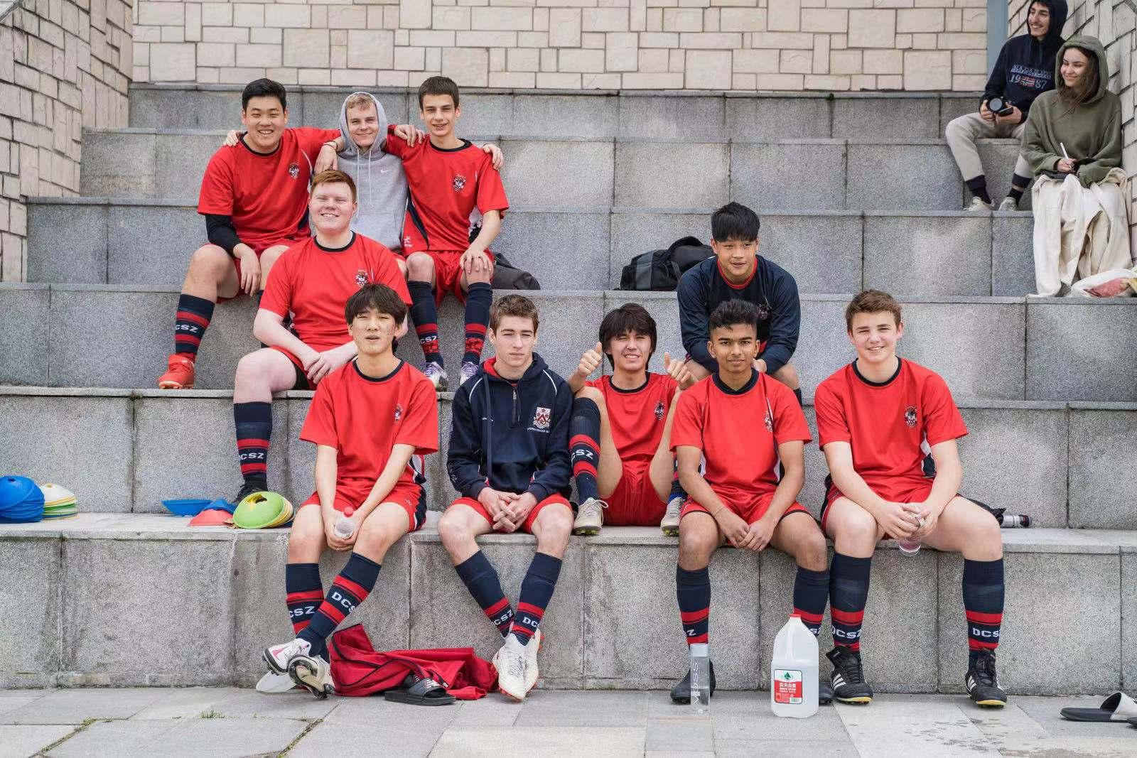 U19 boys football team