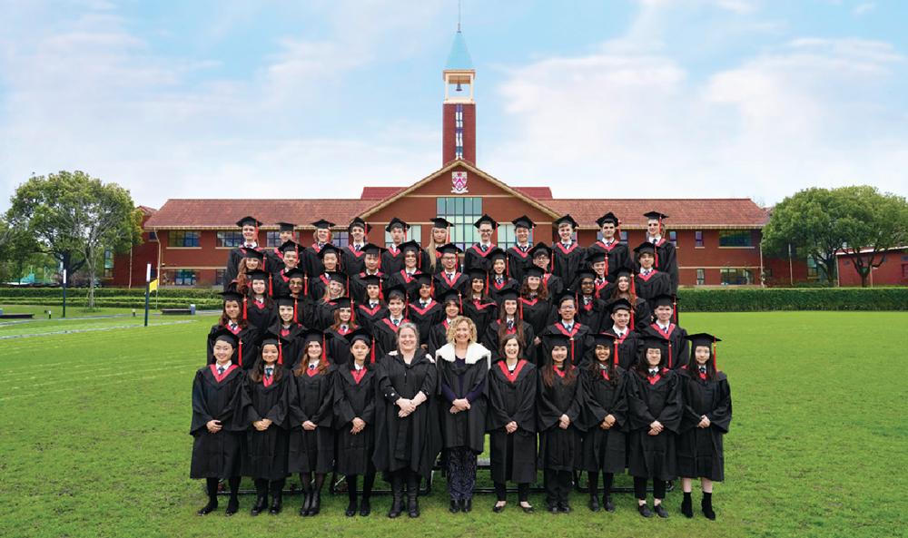 2021届上海浦东德威学生毕业照