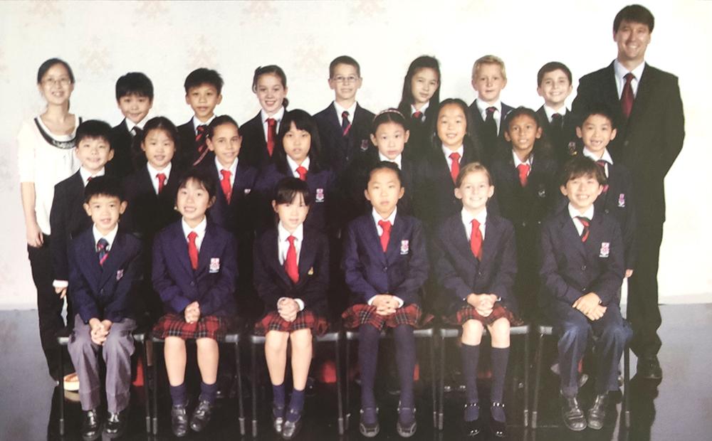 2012: Derek's Year 4 class photo