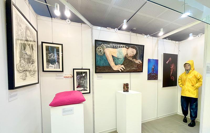 Vanessa's IB art exhibition