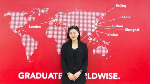 Susie Liu 访问上海浦东德威