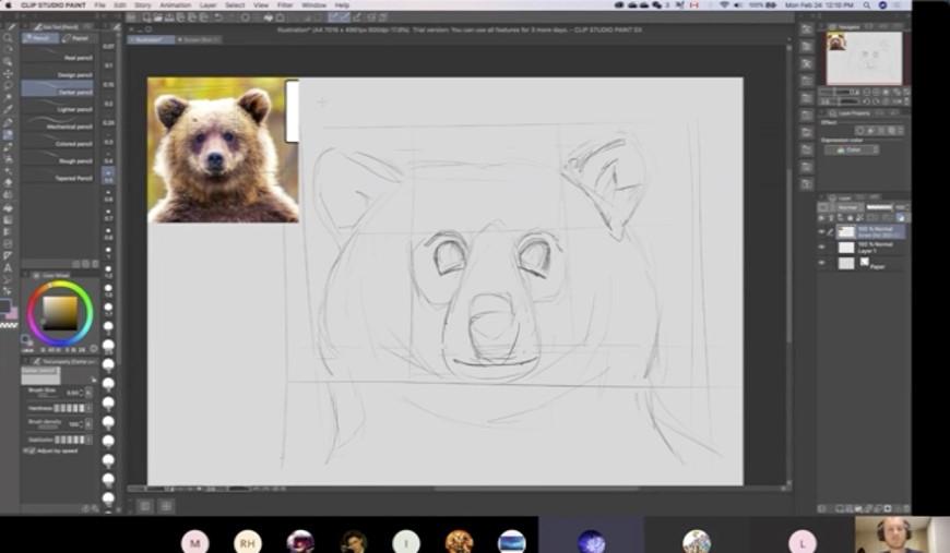 艺术课 - 在线绘画