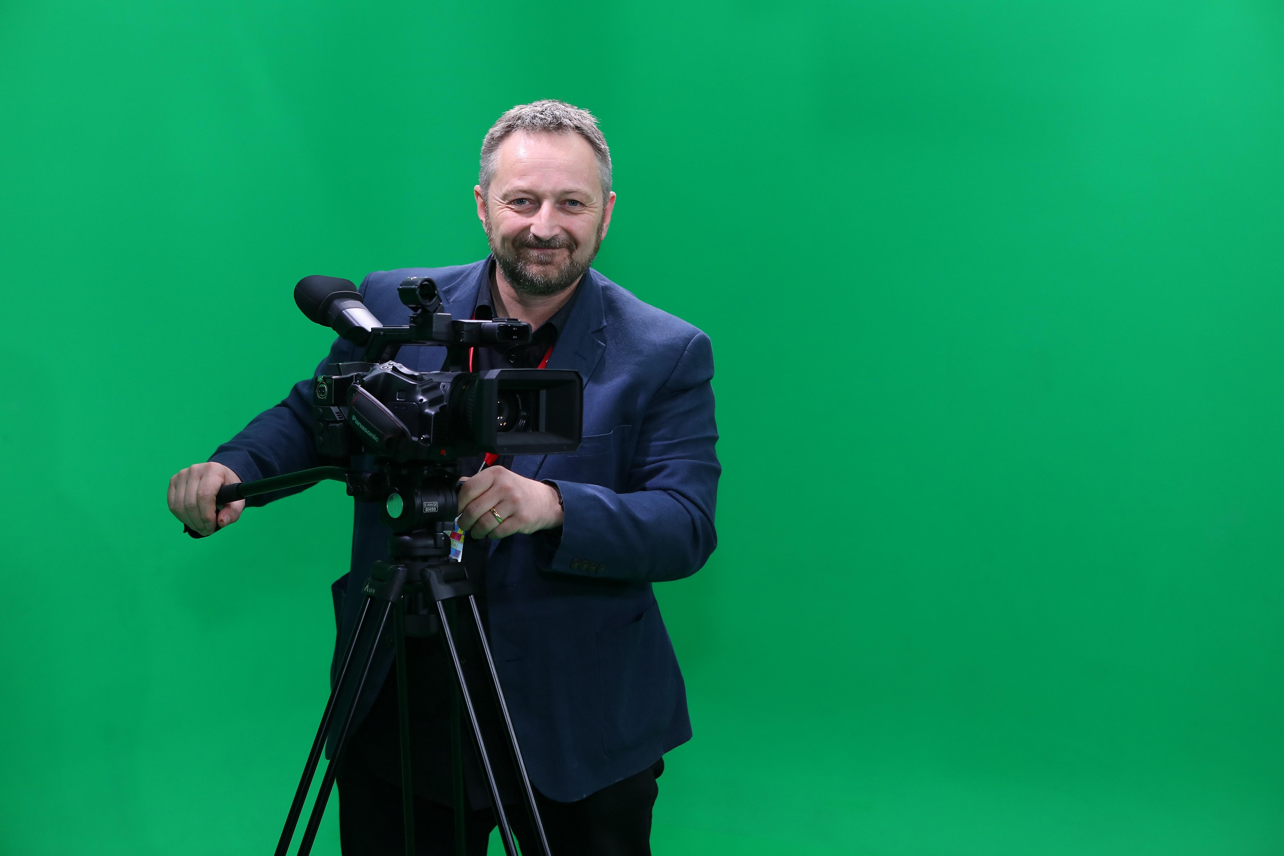 IB film studies teacher Darren Ormandy