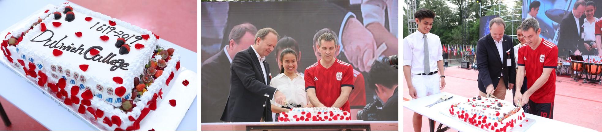 2019年北京德威创建日切蛋糕环节