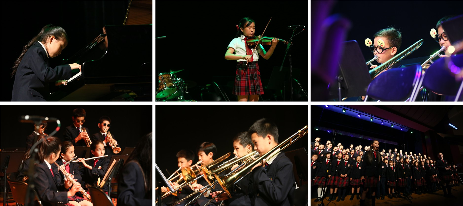 DCB sounds of summer group and solo performances