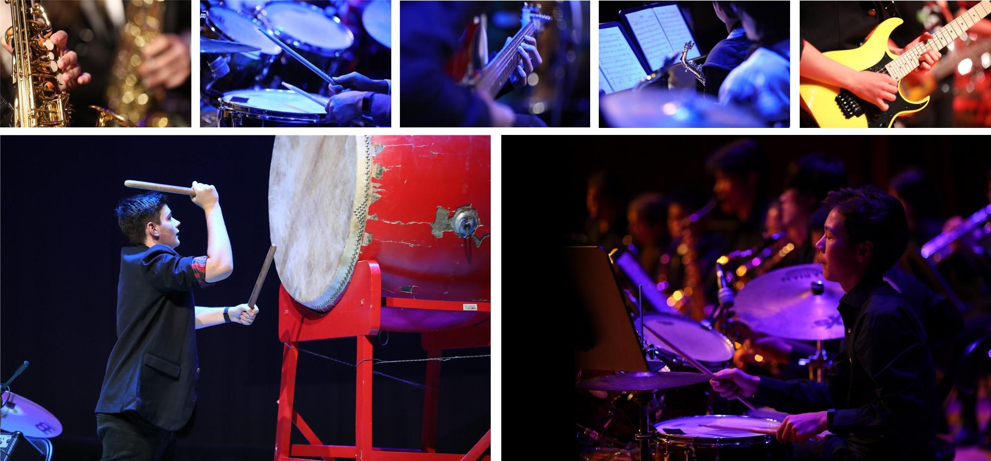 德威音乐节 - 演出与乐器