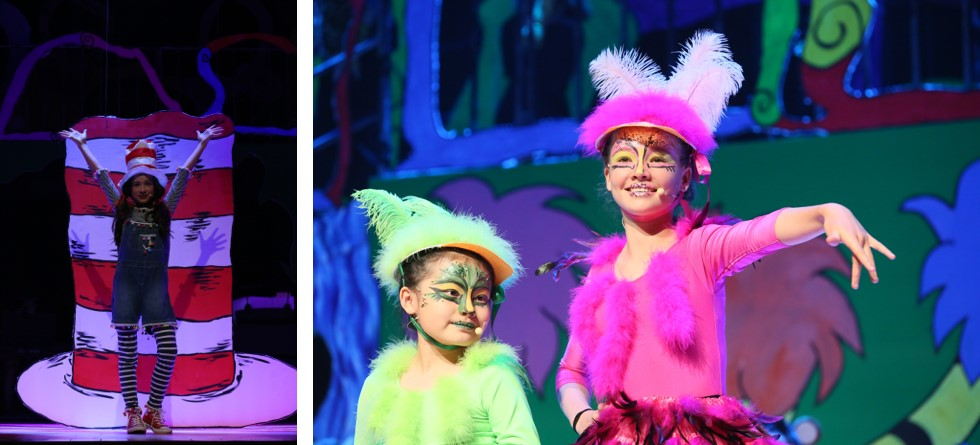 Dulwich College Beijing Seussical Jr musical stage performance