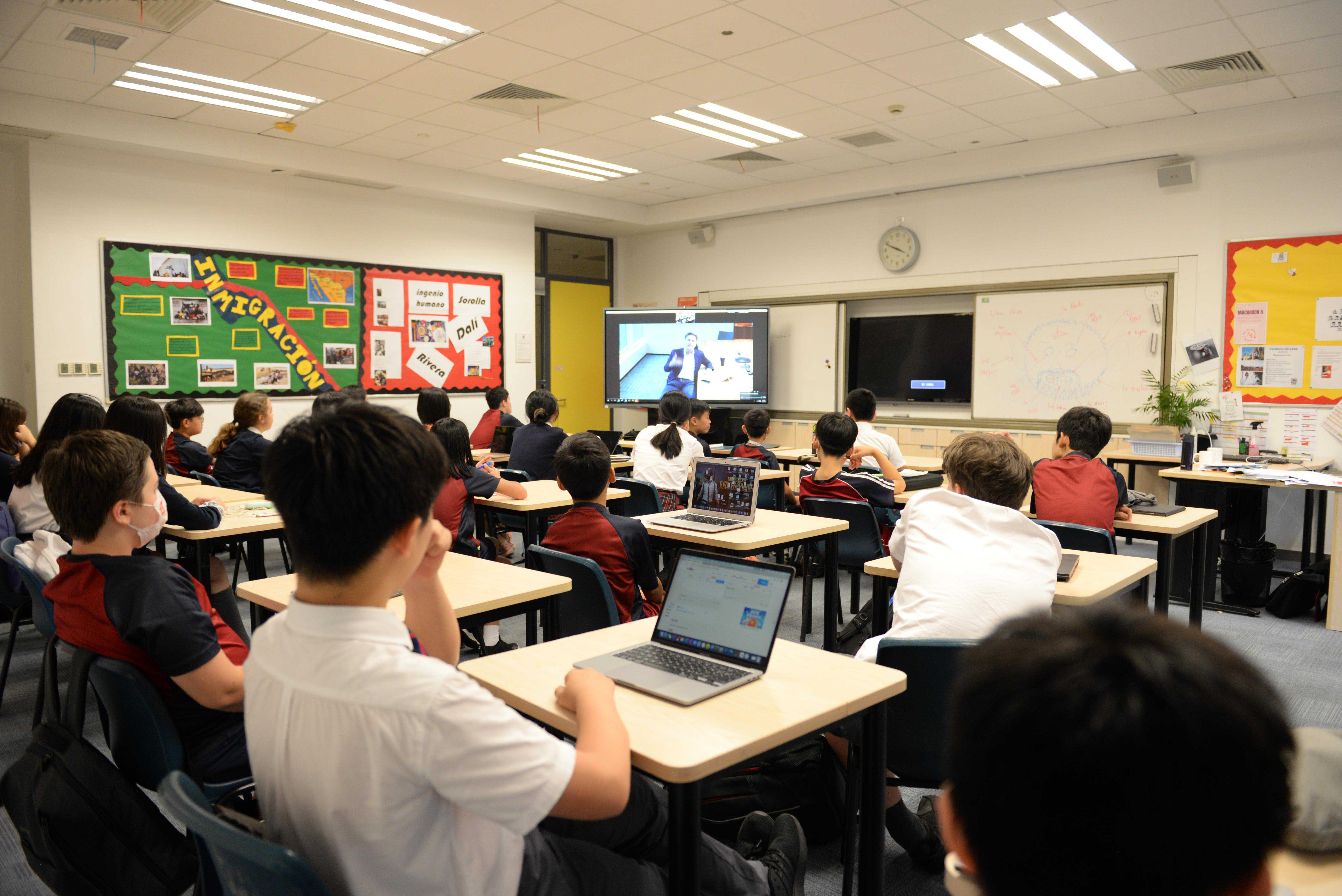 International school suzhou Group CEO Inspired Students at Law Society