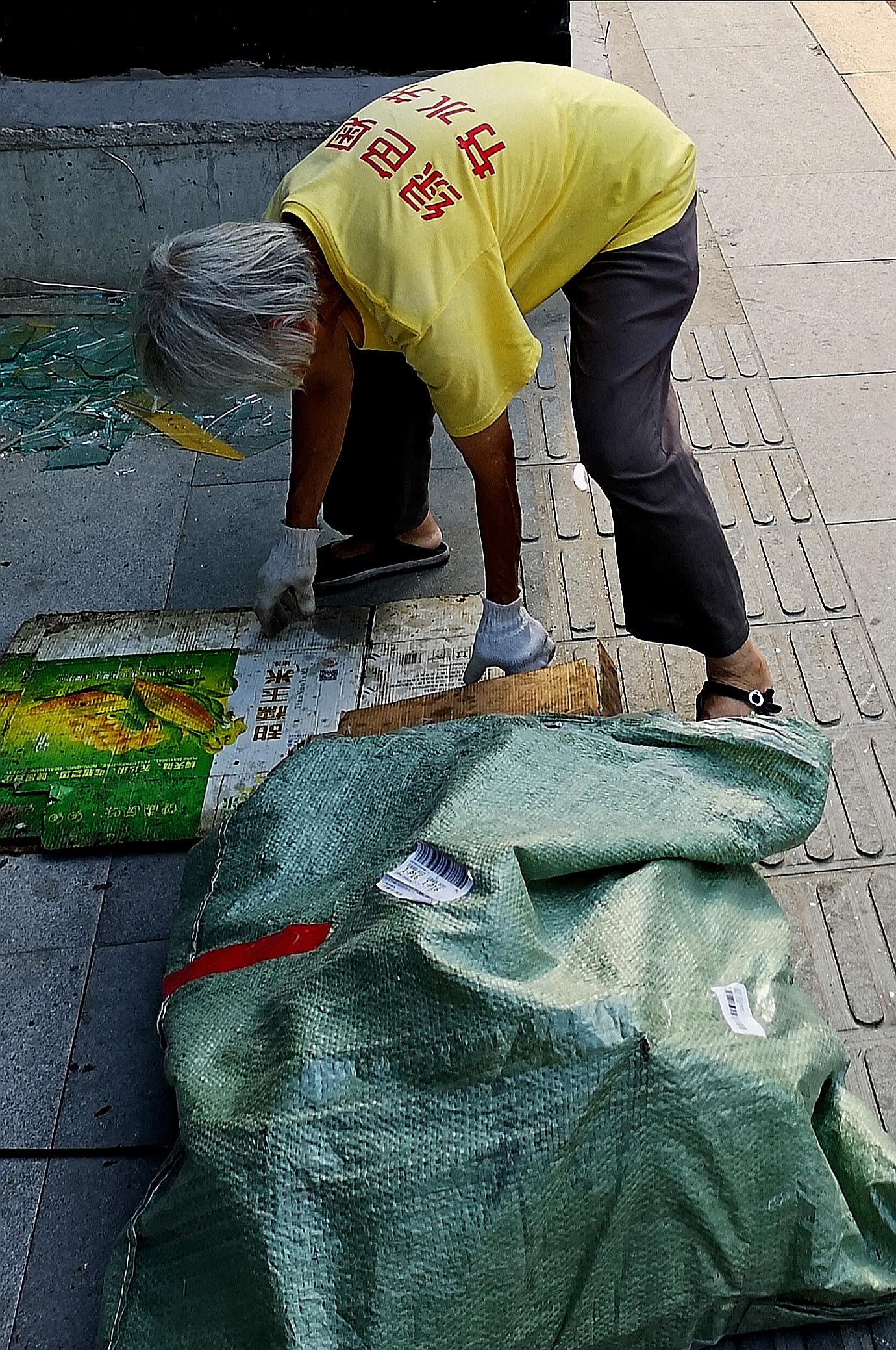 Yue Xu - recycle volunteer - Beijing China