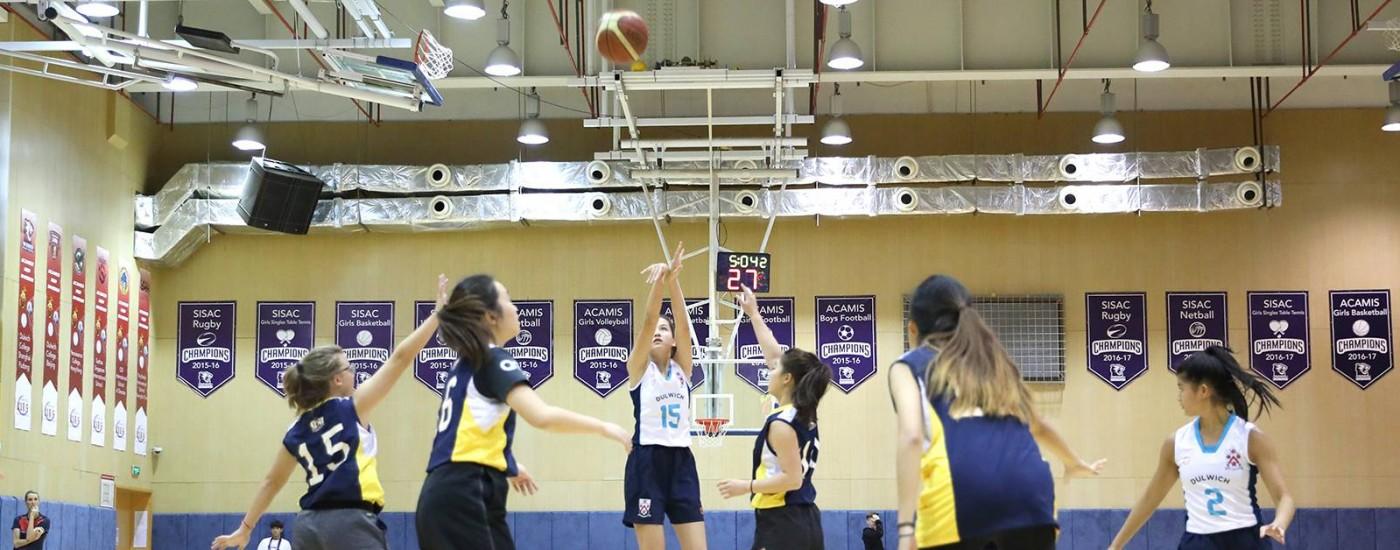 上海德威浦东举办红色赛区ACAMIS篮球锦标赛