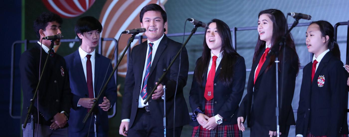 冬季合唱音乐会