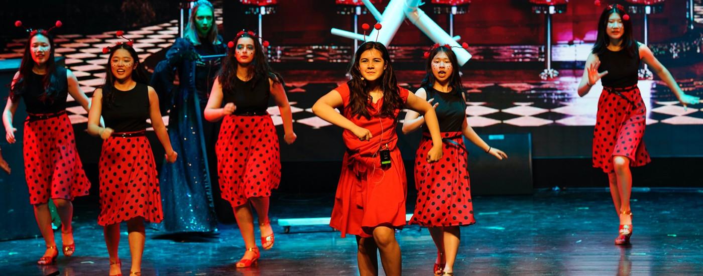 Elena leads The Jitterbug performance