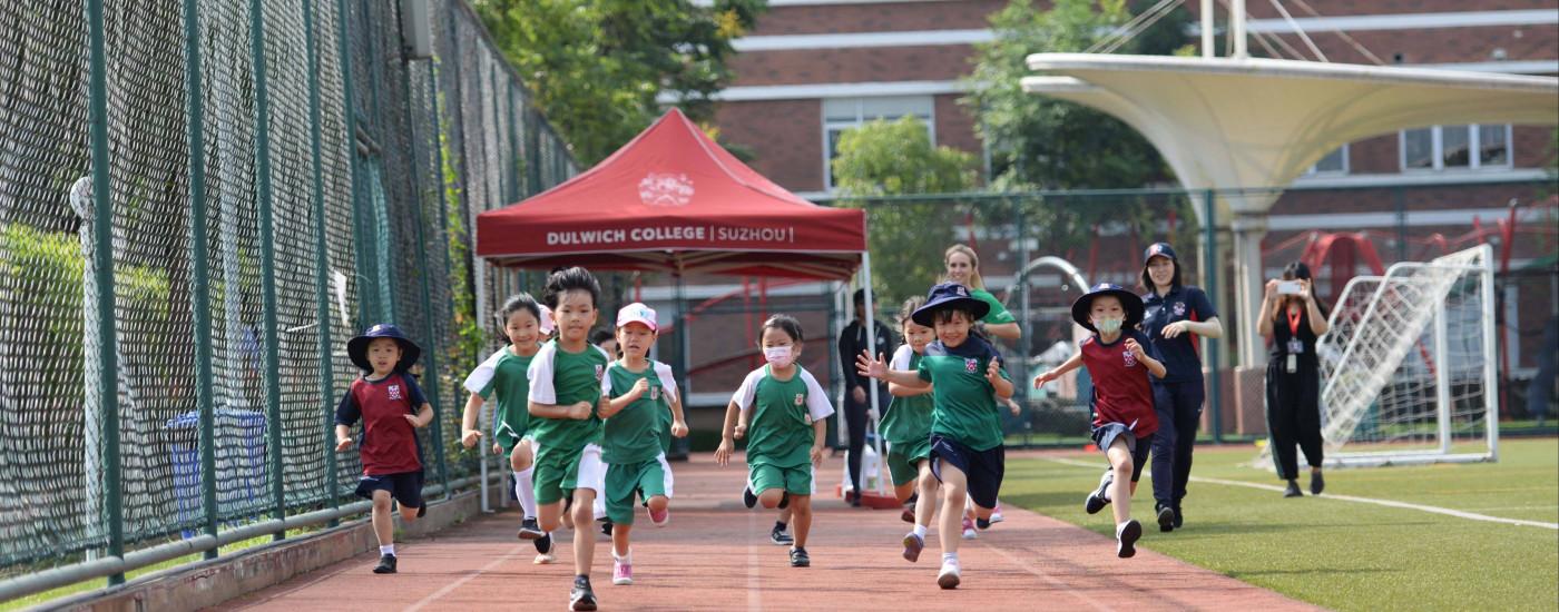 International school suzhou DUCKS Mini Marathon