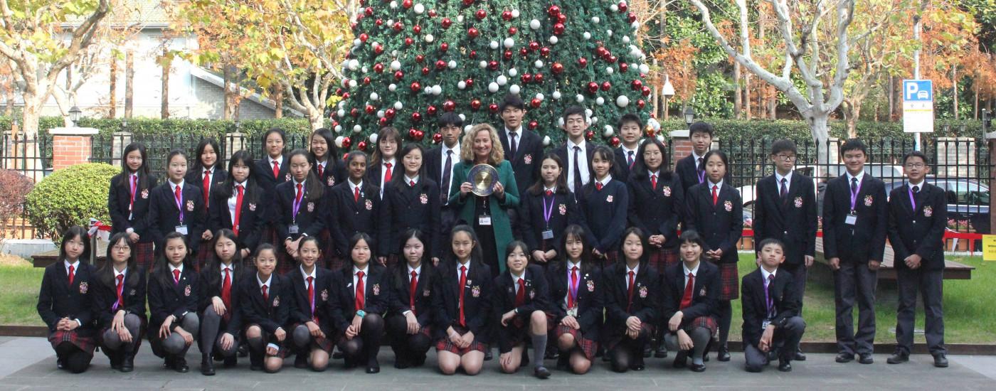 德威浦东学生中国文化进校园竞赛获奖