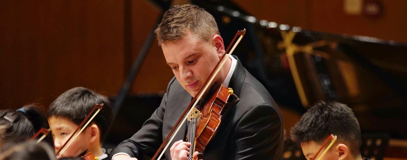 Patrick Sabberton 技艺精湛的小提琴师