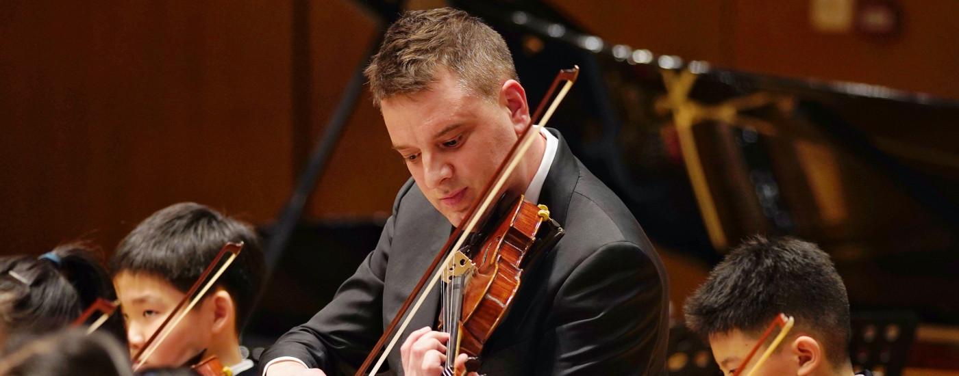 Patrick Sabberton Violin Virtuoso