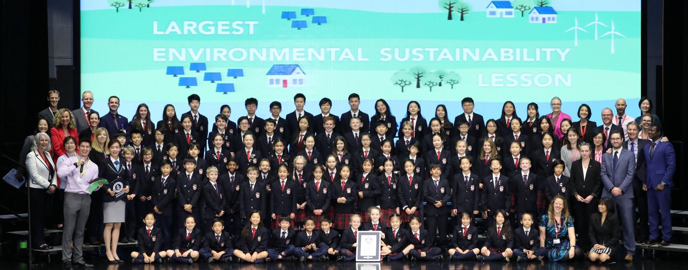 Largest Environmental Sustainability Lesson