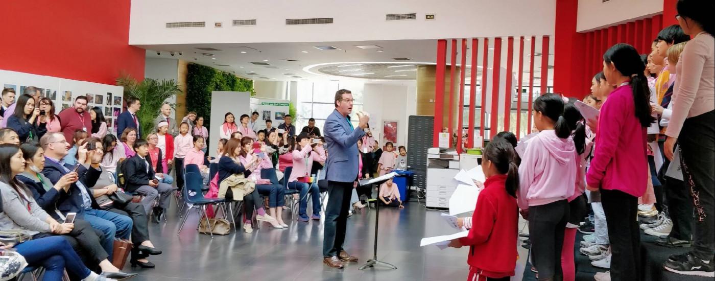 保罗·贾曼(Paul Jarman)到访北京德威
