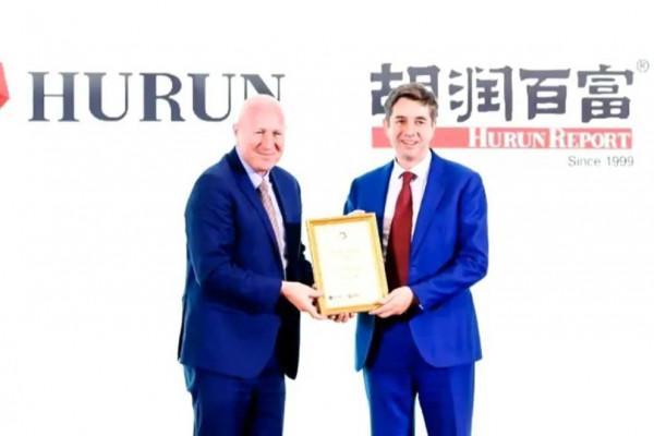 DCB receives Hurun award