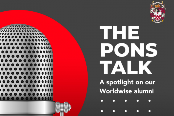 The Pons Talk, our student-alumni podcast, episode three
