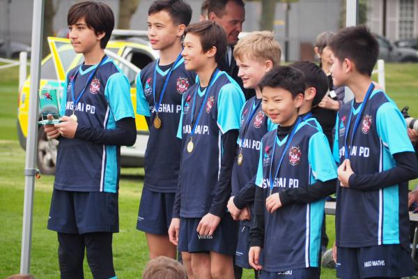 上海德威学生参加伦敦奥林匹亚盛会