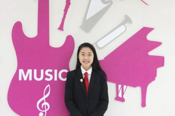 Larrissa L成为第七位荣获Jenkins 作曲奖的德威学生