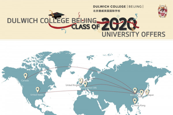 DCB Class of 2020 Receives Offers from Global Top Universities