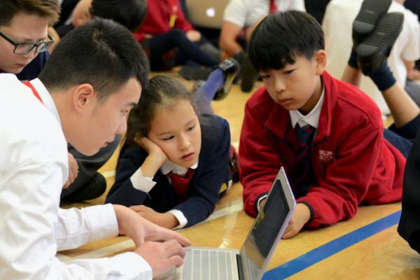 Dulwich College Suzhou World Record Lesson