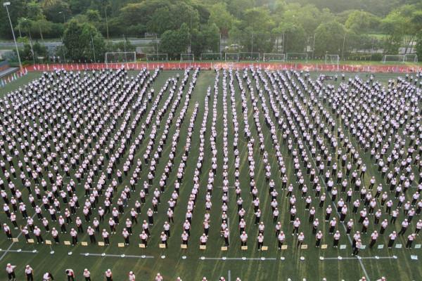 Tai Chi Fiesta at Dulwich College (Singapore)