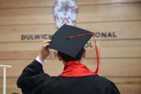 Dulwich College International graduate