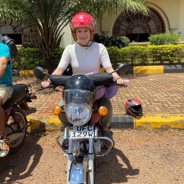 Dulwich College Beijing alumni Noemi providing mental health and psychosocial support in Uganda